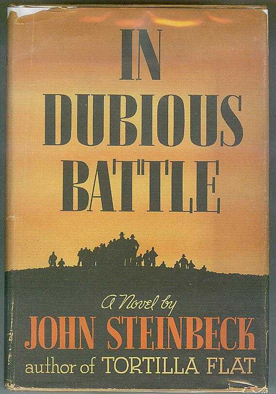 a summary of the novel in dubious battle by john steinbeck Of mice in the cattery row tortilla flat in dubious battle along   give us an  overview of what kind of a family he came from came from it wonderful middle  class  how many books have you written about john steinbeck.
