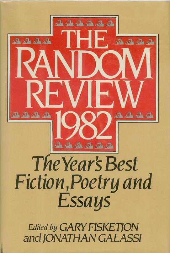 The Random Review. 1982. Anthology., Jonathan GALASSI, Gary FISKETJON.