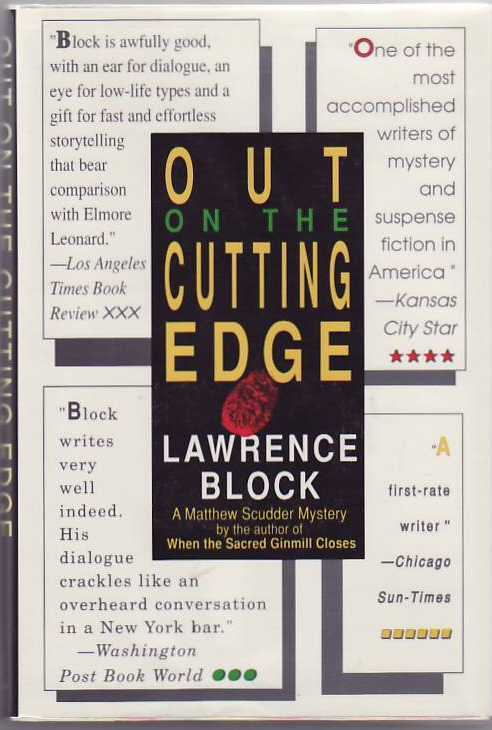 Out on the Cutting Edge. Lawrence BLOCK.