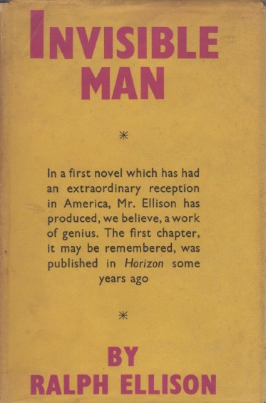 Invisible Man. Ralph ELLISON.