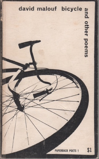 Bicycle and other poems. David MALOUF.