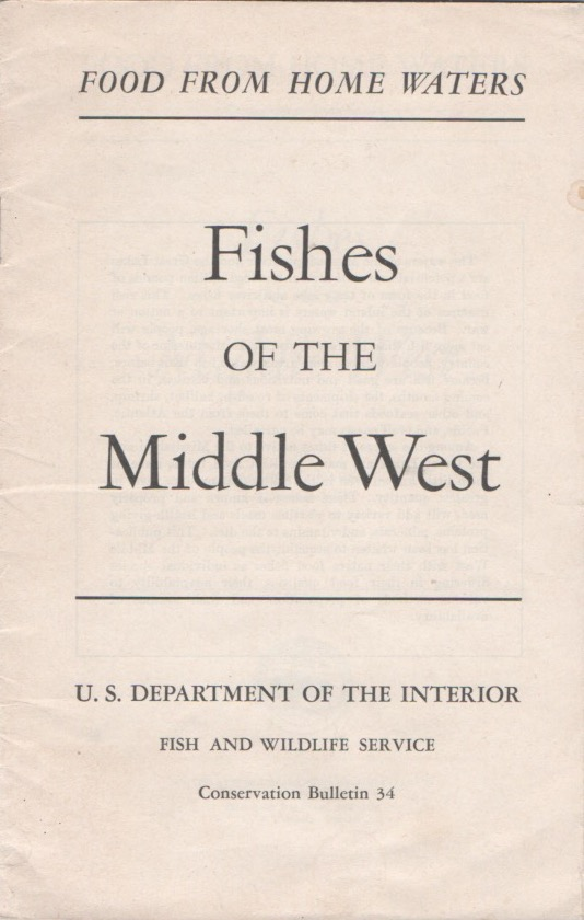 Fishes of the Middle West. Rachel L. CARSON.