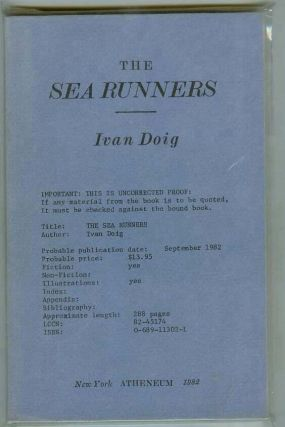 The Sea Runners. Ivan DOIG.