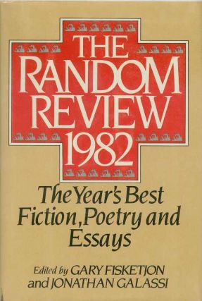The Random Review. 1982. Anthology., Jonathan GALASSI, Gary FISKETJON
