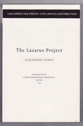The Lazarus Project. Aleksanar HEMON