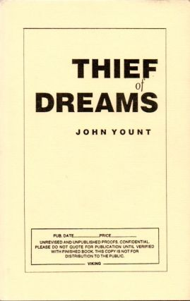 Thief of Dreams. John YOUNT, Ivan Doig's copy