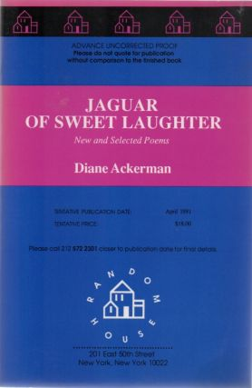 Jaguar of Sweet Laughter. New and Selected Poems